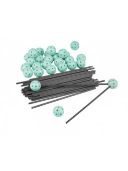 ZWARIOWANY NAMIOT zestaw 72 elementów - szaro-zielony
