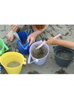 2 Scrunch Spade Łopatka do pisaku na plażę BŁĘKITNA