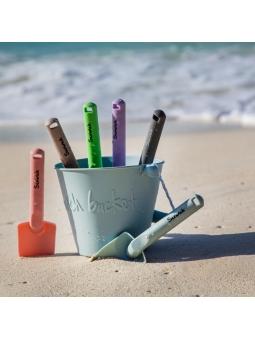 3 Scrunch Spade Łopatka do pisaku na plażę BŁĘKITNA