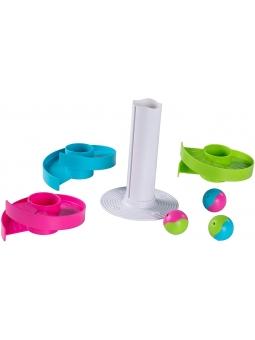 2 Fat Brain Toys Kołyszący Tor dla Kulek Wobble Run