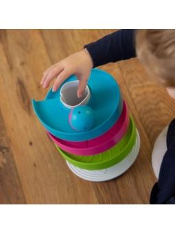 4 Fat Brain Toys Kołyszący Tor dla Kulek Wobble Run