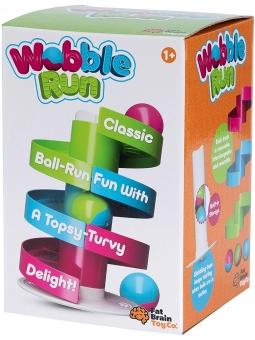 7 Fat Brain Toys Kołyszący Tor dla Kulek Wobble Run