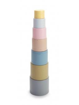 2 DANTOY BIO TINY wieża z kubeczków piramida 7elementów 6m+