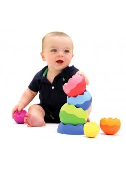11 Fat Brain Toys Kule Tobbles Neo piramidka wieża 6m