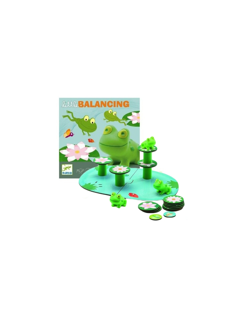 1 DJECO Gra Little Balancing balansujące żabki 2+