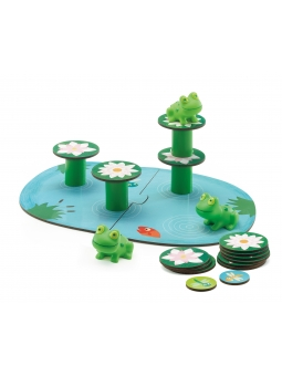 3 DJECO Gra Little Balancing balansujące żabki 2+