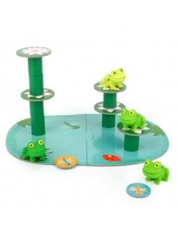 6 DJECO Gra Little Balancing balansujące żabki 2+