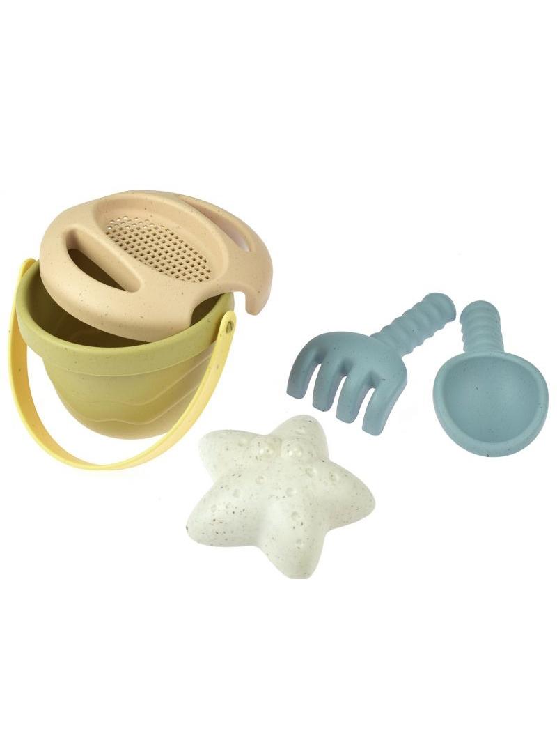1 DANTOY BIO TINY Zestaw zabawki do piasku z rozgwiazdą 10m+