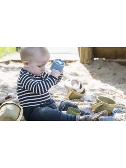 8 DANTOY BIO TINY Zestaw zabawki do piasku z rybką 10m+