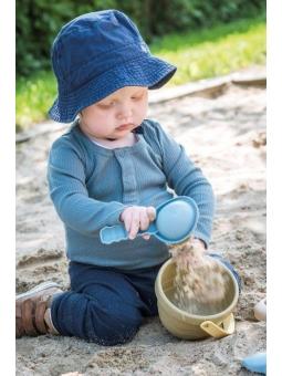 4 DANTOY BIO TINY Zestaw zabawki do piasku z krabem10m+