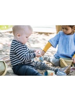 5 DANTOY BIO TINY Zestaw zabawki do piasku z krabem10m+