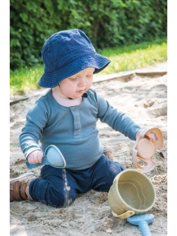 6 DANTOY BIO TINY Zestaw zabawki do piasku z krabem10m+